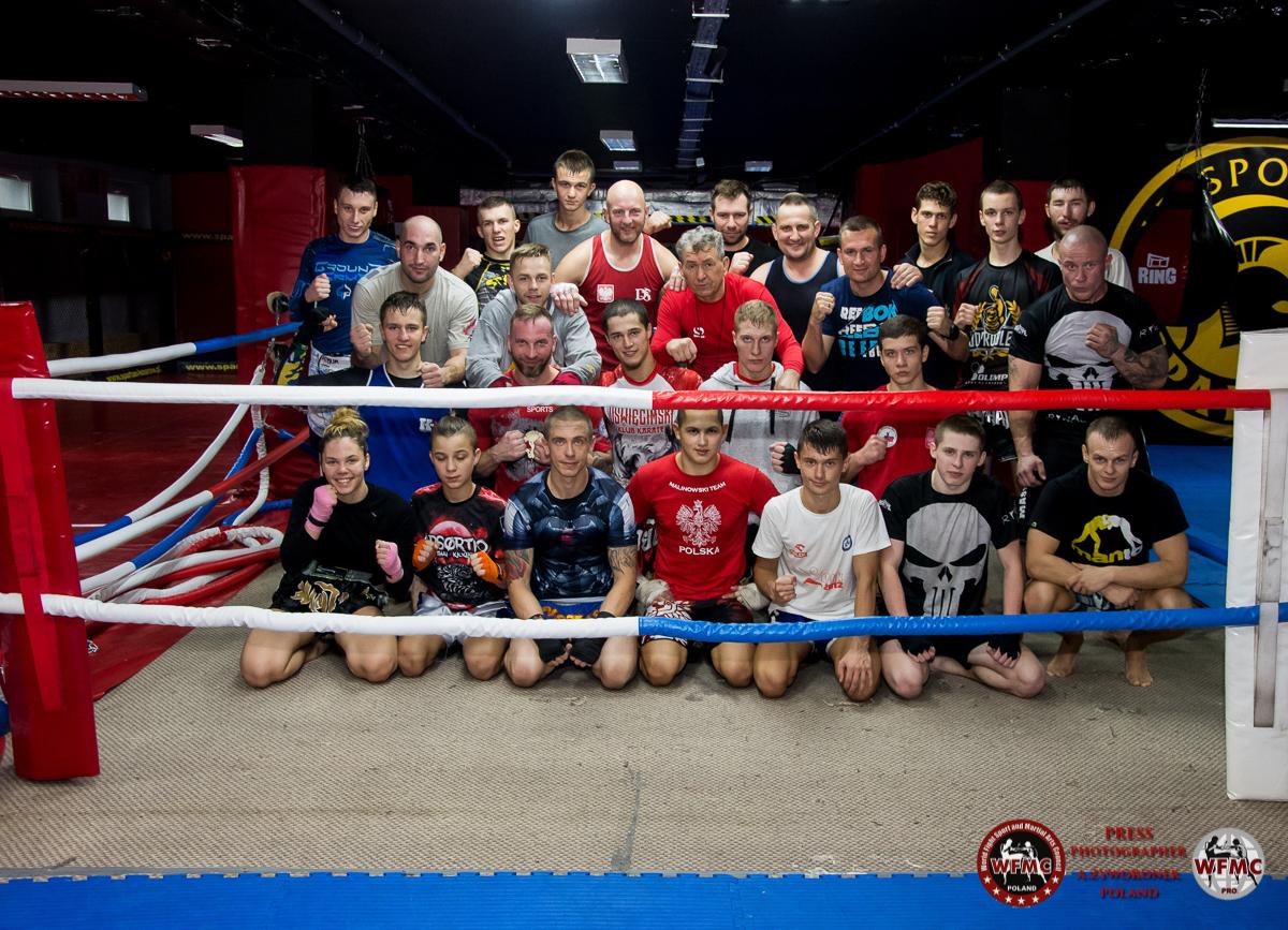 Zgrupowanie  reprezentacji Wfmc Polska w Knurowie trening bokserski