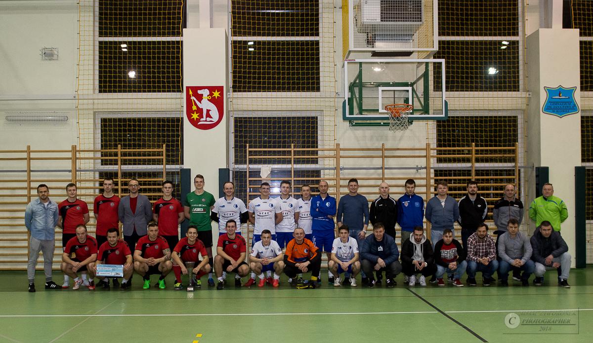 Halowy Turniej Piłki Nożnej o Puchar Burmistrza Pawła Lichtańskiego