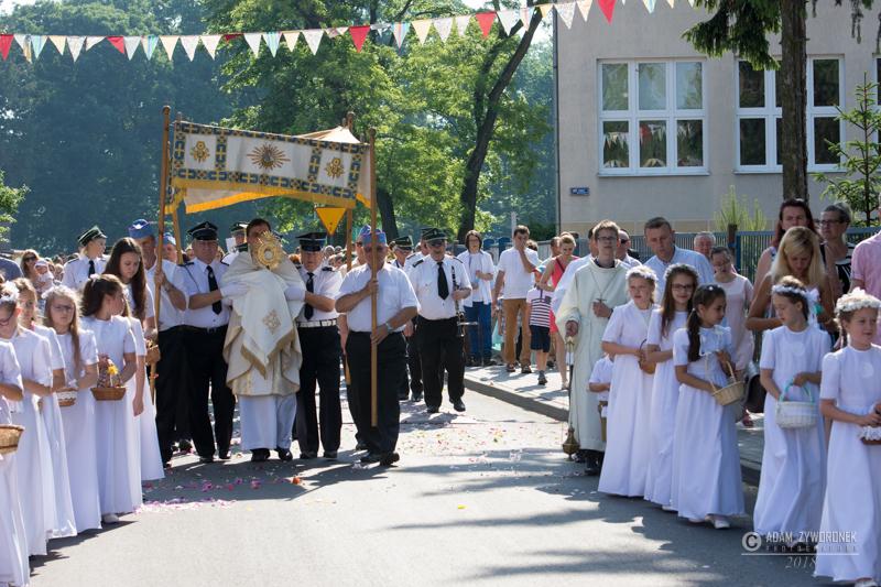 Procesja Eucharystyczna w Iłowej.