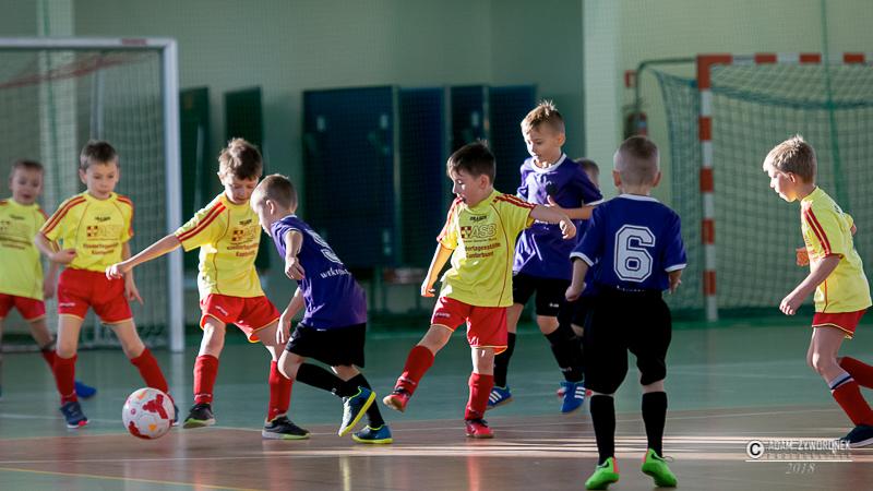 Międzynarodowy turniej dziecięcy piłki nożnej w Iłowej 08.12.2018