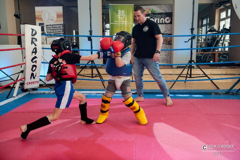 Young Talents Gala 5 w Żarach 2019 /kickboxing i boks