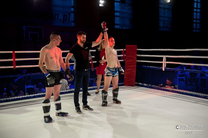 Charytatywna Gala Sportów Walki Żagań 13.04.2019 -walak 6. Sebastian Woźniak (Fudo Iłowa) vs Filip Jarocki (Malinowski Team Żary) MMA