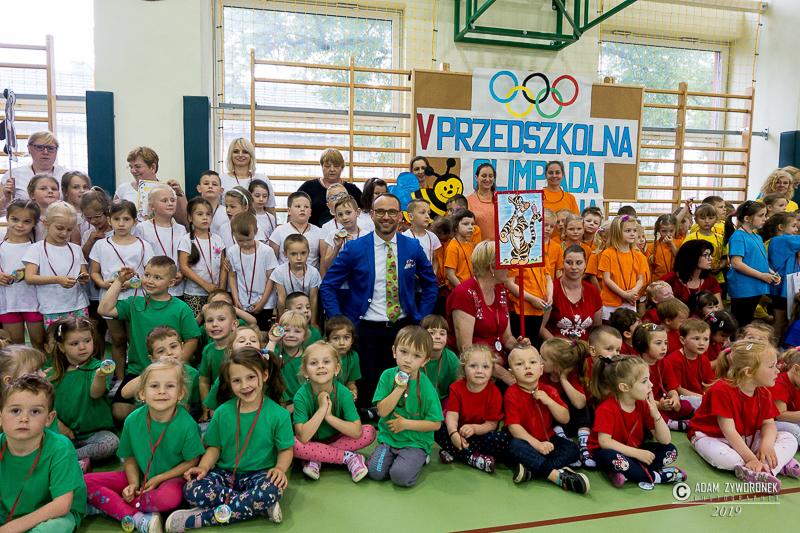 V edycja Przedszkolnej Olimpiady Sportowej w Iłowej.