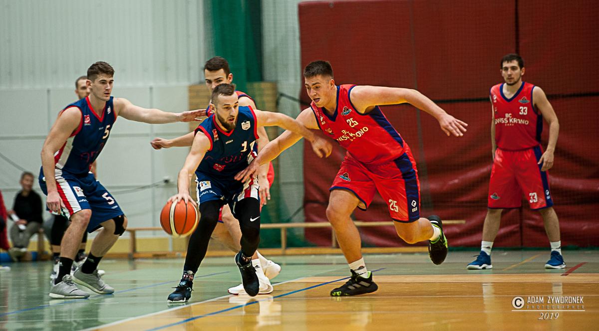 Mecz koszykówki 2.liga. BC Swiss Krono-AZS Basket Nysa,79:57