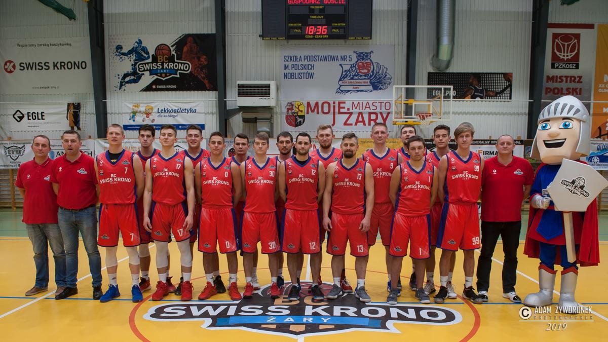 Mecz koszykówki 2. liga. BC Swiss Krono-Sudety Jelenia Góra,80:67